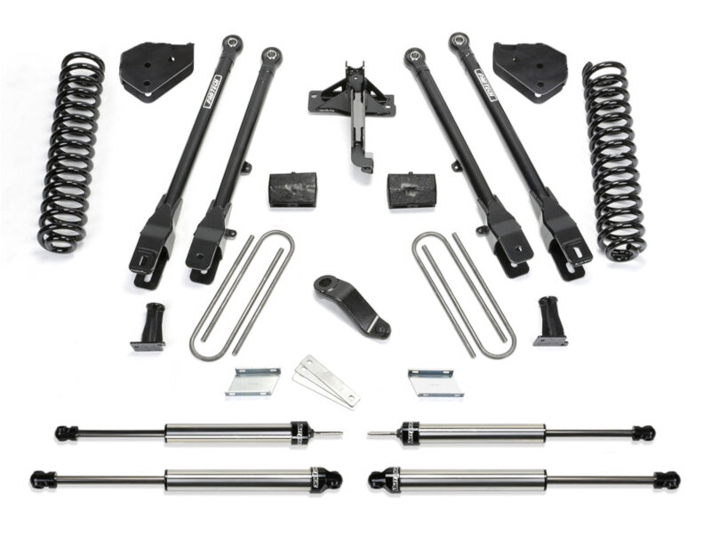 F250 Amp F350 Fabtech Four Link 6 Lift Kit W