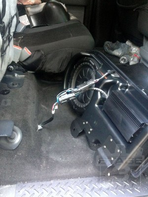 20092014 F150 Kicker VSS SubStage Powered Subwoofer Kit
