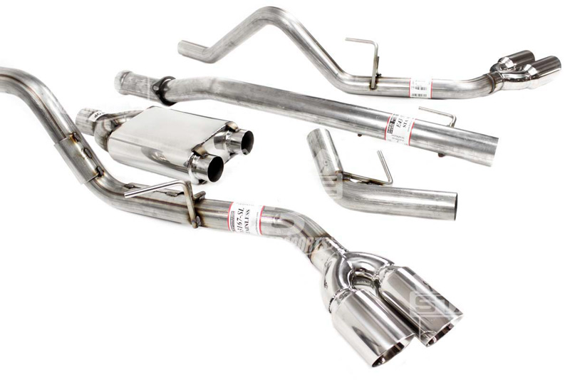 Solo Performance Exhaust For F150 Ecoboost Trucks