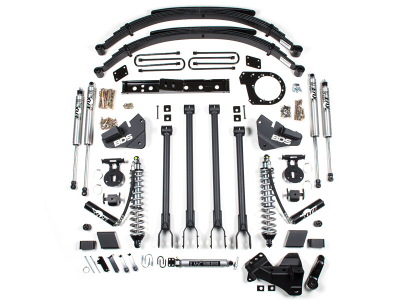 F250 Amp F350 4wd Bds 6 4 Link Coilover Suspension Lift Kit F