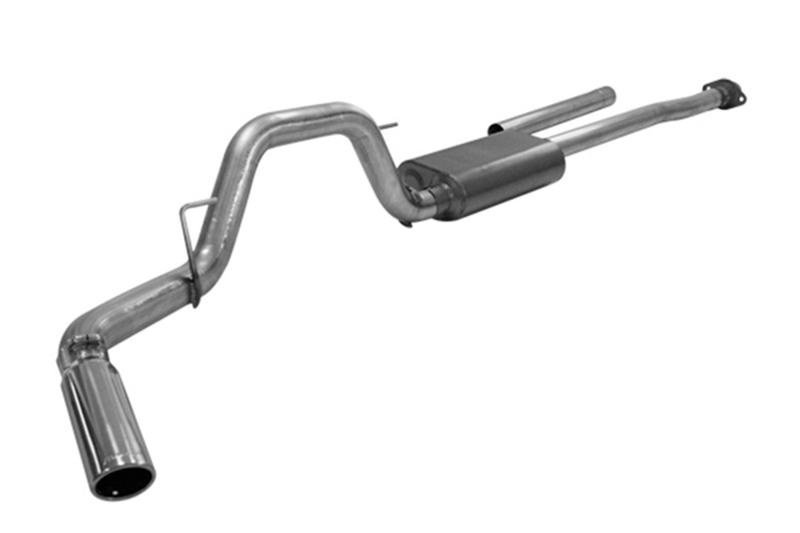 F150 V8 Flowmaster Force Ii Cat Back Exhaust Kit