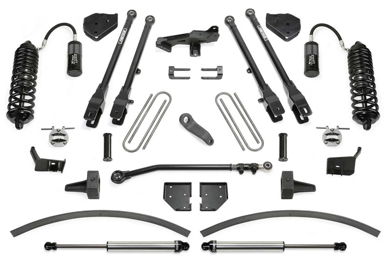 F250 Amp F350 Fabtech 8 4 Link Lift Kit W Front
