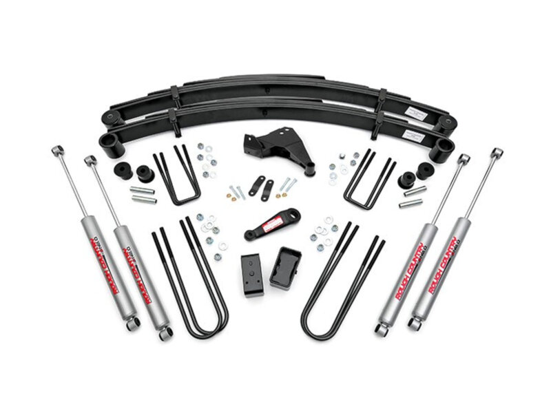 F250 Super Duty 4wd Rough Country 6 4 Link Suspension Lift Kit 496 20
