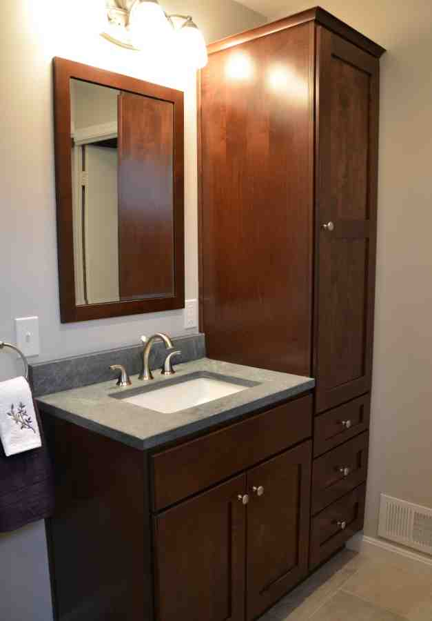 Tall Vanity Cabinets Home Furniture Design