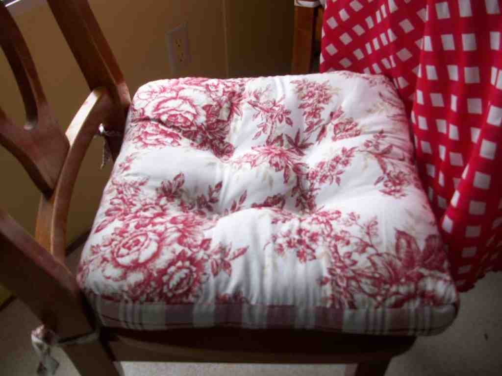 Country Kitchen Chair Cushions Home Furniture Design