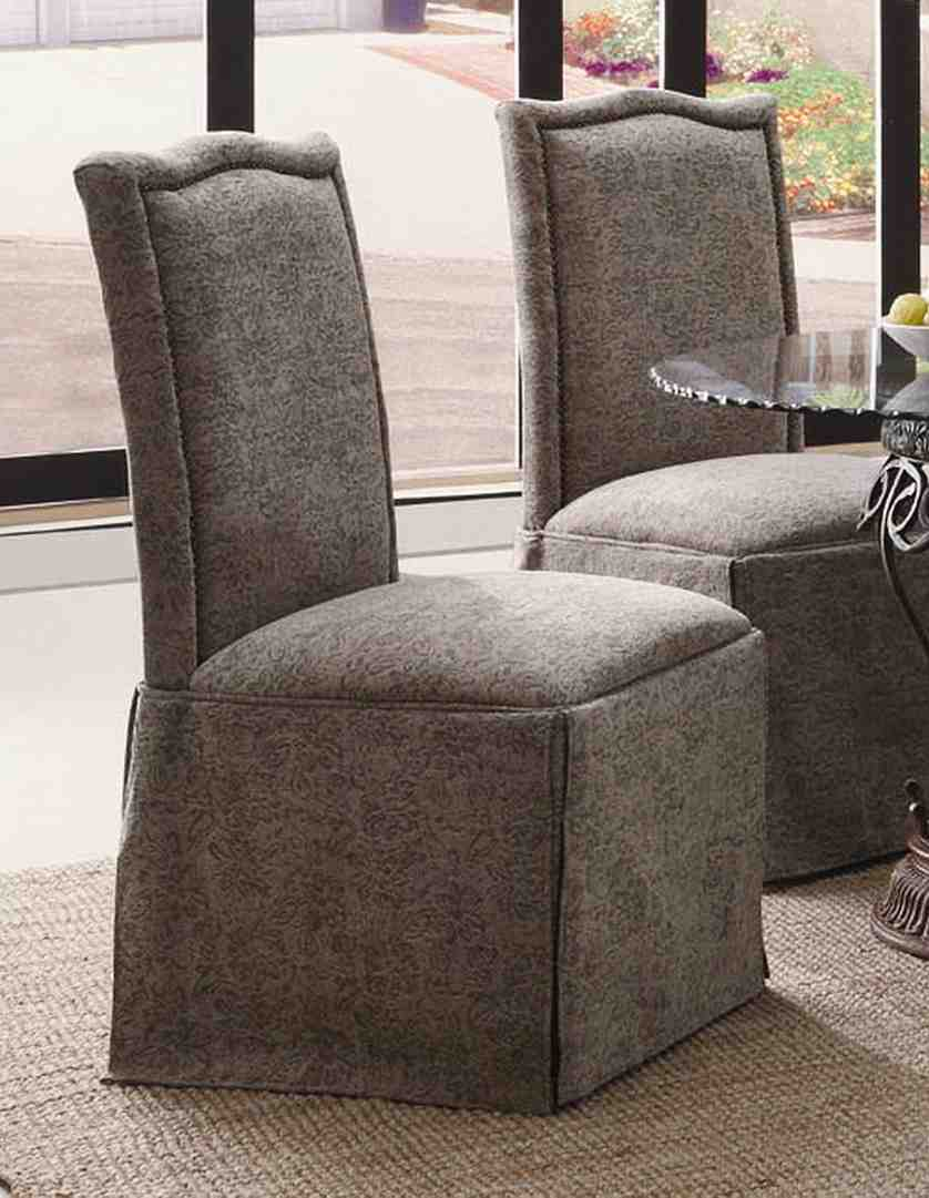Skirted Parsons Dining Chairs Home Furniture Design