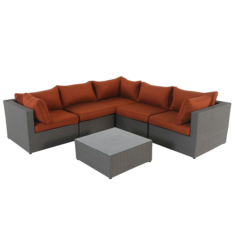 Sectional Couch Pillow Arrangement
