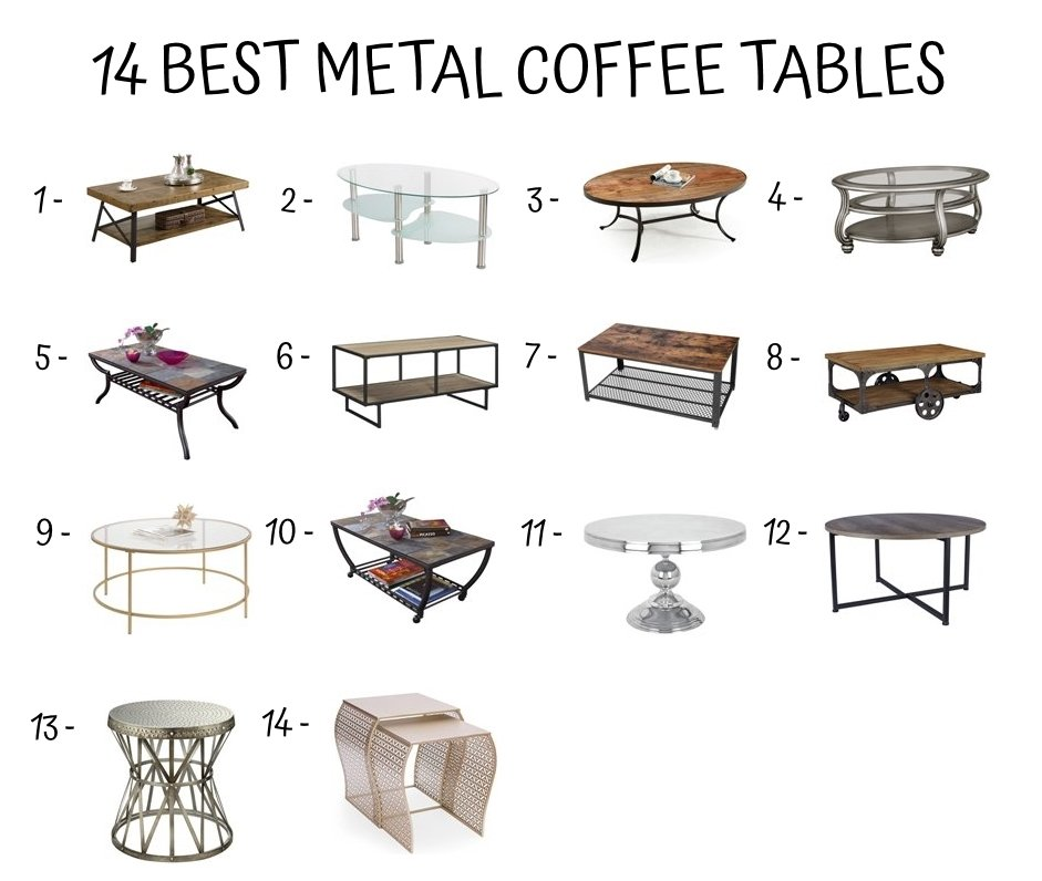 Different Types Of Coffee Tables Home Furniture Design