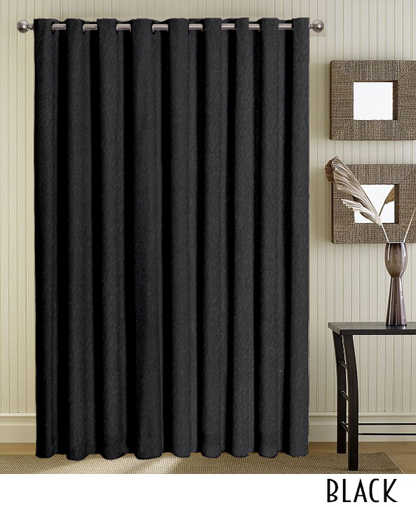 Black Curtains With Grommets