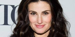 Idina Menzel attends the Tony Awards Meet The Nominees Press Junket on Wednesday, April 30, 2014 in New York. (Photo by Charles Sykes/Invision/AP)
