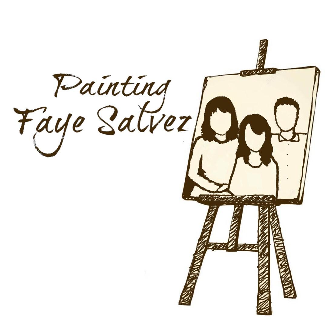 Painting Faye Salvez