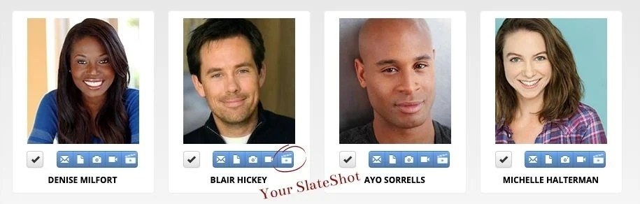 actors access SlateShot