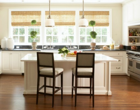 Window Treatments for Home Staging Kitchen interior design pictures