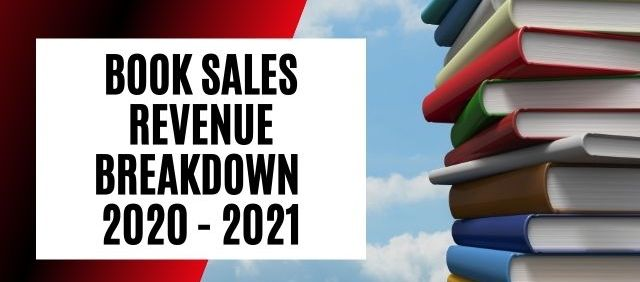 Book Sales Revenue Breakdown By Platform, Format, Country, and More 2021