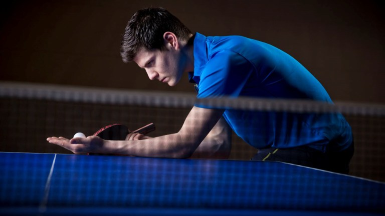 get more spin on your sidespin serves
