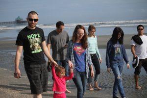 marro family in folly beach sc