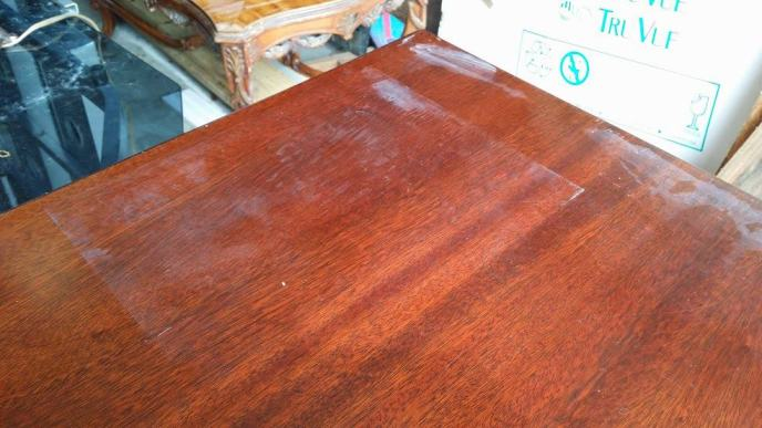 remove water rings from wood
