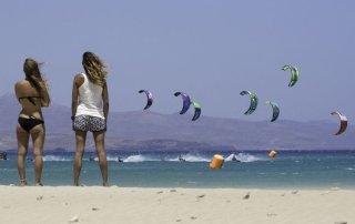 kitesurf donna