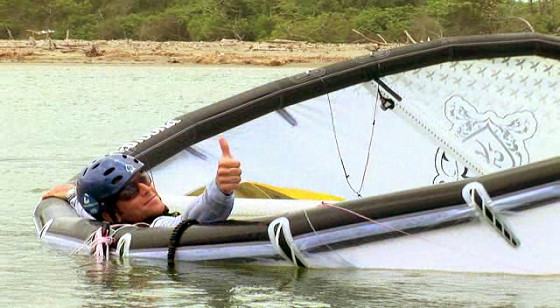 self rescue kite