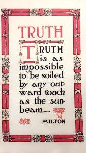 Truth by John Milton
