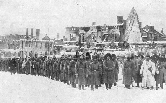 Russische Kriegsgefangene 1915