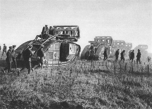 Englische Panzer 1918
