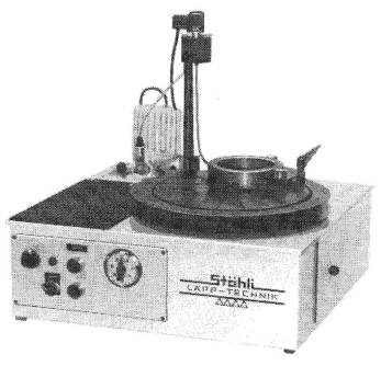 Bench Lapping and Polishing Machine for hand lapping and machine lapping applications