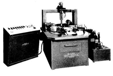 Optical polishing machine FLM 750-P with cooling unit