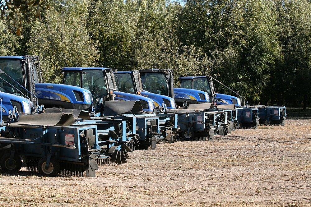 Harvesting equipment for the pecan grower Stahmanns