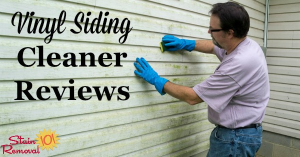 Best Cleaner For Vinyl Siding Reviews And Ratings For You