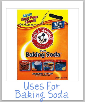 uses for baking soda