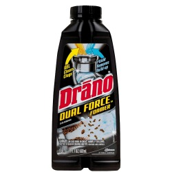 Drano Dual Force Foamer Clog Remover Review Cleared Hair