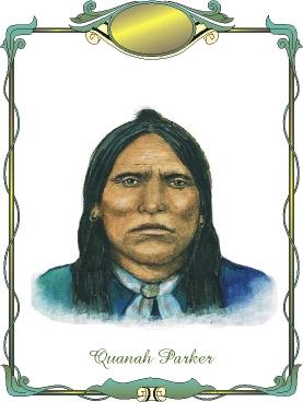 Quanah Parker Portrait
