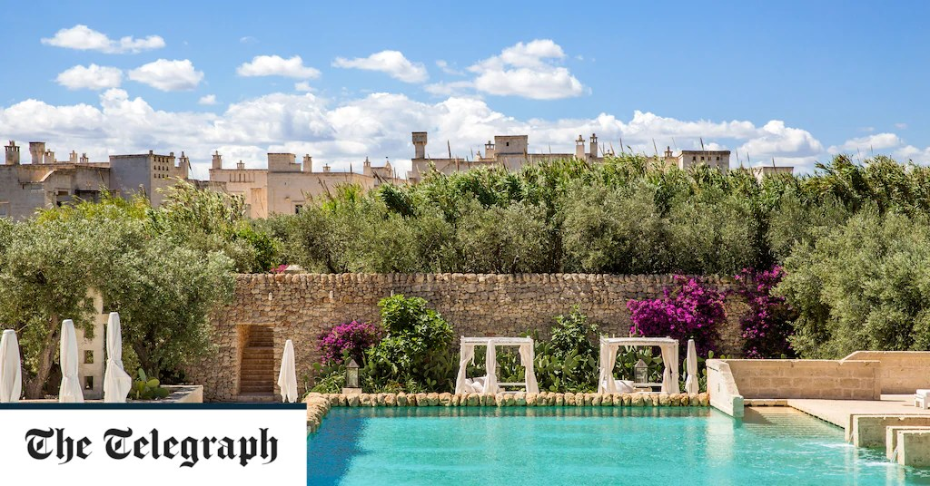 Best spa hotels in Puglia