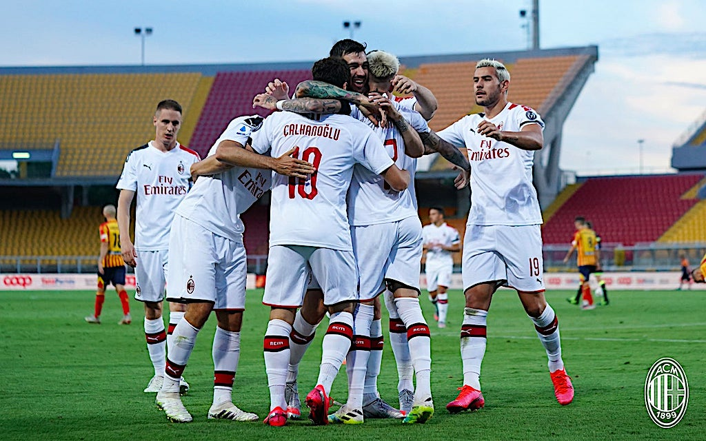 Castillejo and Rebic net as ruthless Rossoneri run riot in Apulia