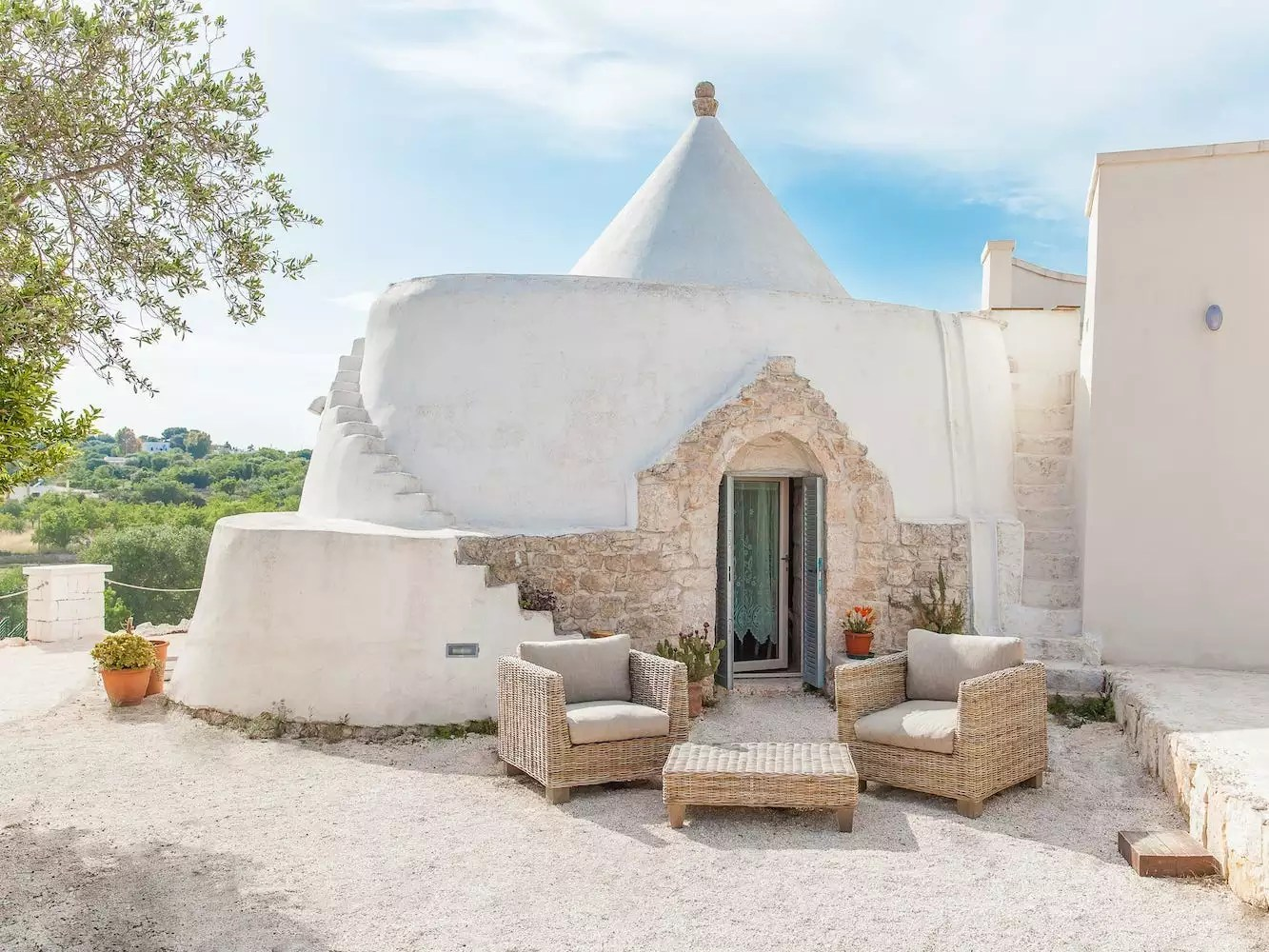 You can sleep in a cone-shaped tiny home in Italy for $60 a night, and it comes with an infinity pool