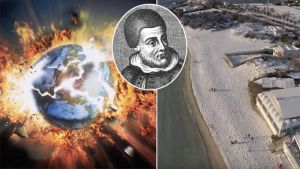 Apocalypse? Fears Italian Nostradamus prophecy is coming true as it snows in southern Italy