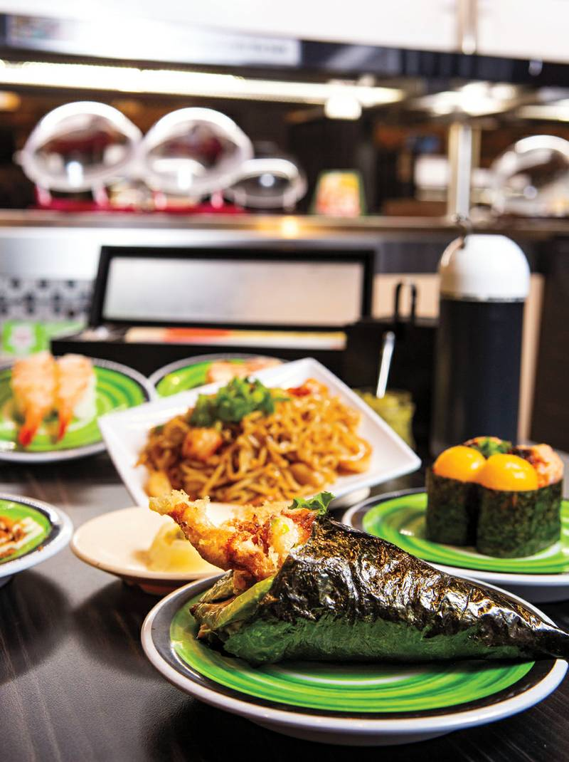 On and Off the Strip: Sixth + Mill and Kura Revolving Sushi Bar -