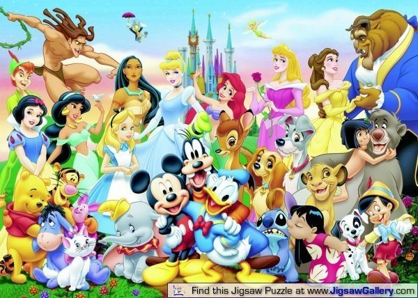 I belli e le belle Disney