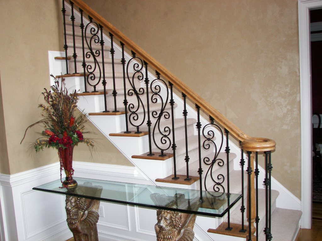 Scroll Series Wrought Iron Balusters