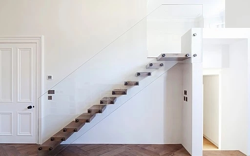 Concrete Stairs Siller Stairs   Wood And Concrete Stairs   House   Internal   Glass   Small Space   Pinterest