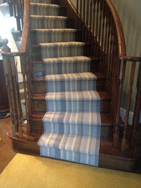 Spiral Staircase Carpet Runners Carpet Treads For Spiral Stairs | Spiral Staircase Carpet Runners | Staircase Ideas | Staircase Railings | Stair Case | Beige Carpet | Sisal Stair