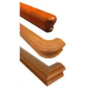 Stair Handrails Wood Metal Bending Handrail For Stairs   Hardwood Handrails For Stairs   Brown   Tree Shaped Stair   Balustrade   Indoor   Handrail