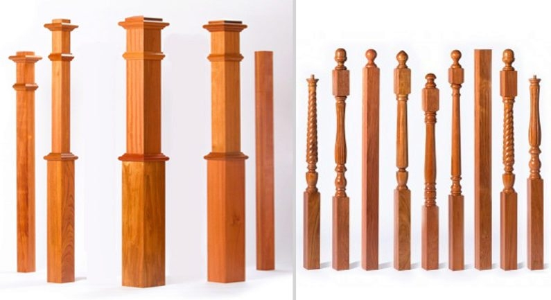Newels What Is A Newel All About Newel Posts For Stairs | Newel Post Cap Designs | White Oak | Decorative | Strong | Porch | Diy
