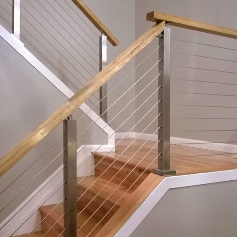 How To Install A Cable Railing System Stairsupplies™ | Diy Interior Cable Railing | Front Step | 42 Inch | Modern | Wire | Low Cost