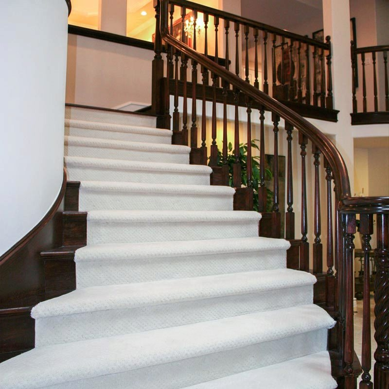 Make Your Wood Stairs Less Slippery Stairsupplies™   Best Wood For Indoor Stairs   Hardwood   Stair Parts   Stair Case   Glass   Red Oak