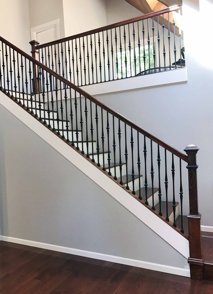 Project 258 Gothic Iron Balusters Shoes Stairsupplies™ | Shoe Rail For Iron Balusters | Modern | Oak | Slides | Cast Iron | Remodel