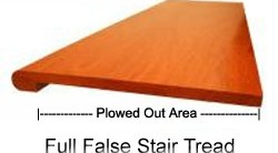 Buy False Stair Treads In Usa Online   Hardwood Stair Treads Price   Flooring   Risers   Basement Stairs   Prefinished   Stair Parts
