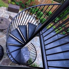 Spiral Staircase Kits Circular Spiral Stairs Kit Stairways Inc   Metal Spiral Staircase For Sale   Cast Iron   Stair Railing   Staircase Kits   Wrought Iron   Handrail