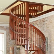 Spiral Staircase Kits Circular Spiral Stairs Kit Stairways Inc   Spiral Deck Mate Stair   Powder Coated   Trex Spiral   Stair Treads   Stair Case   Staircase Kits
